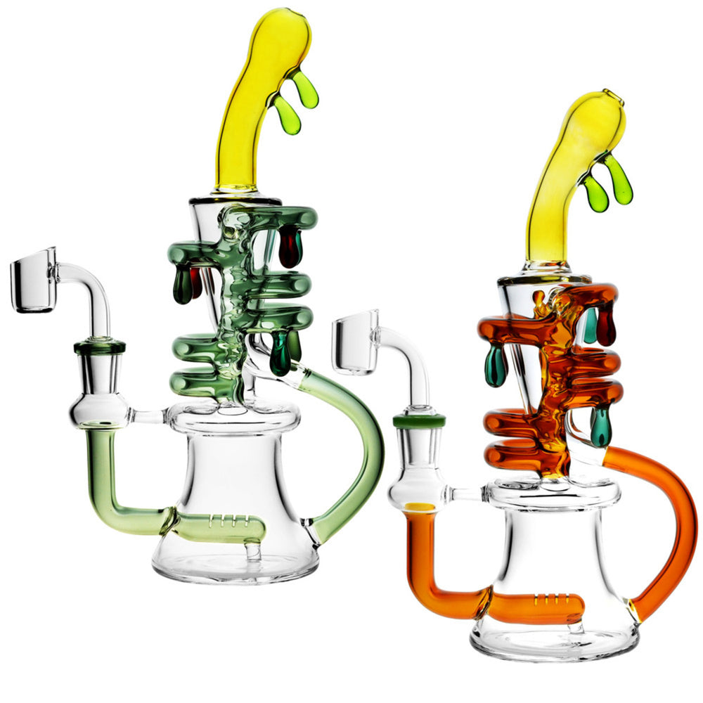 Dripping Oil Rig Recycler  9.5""