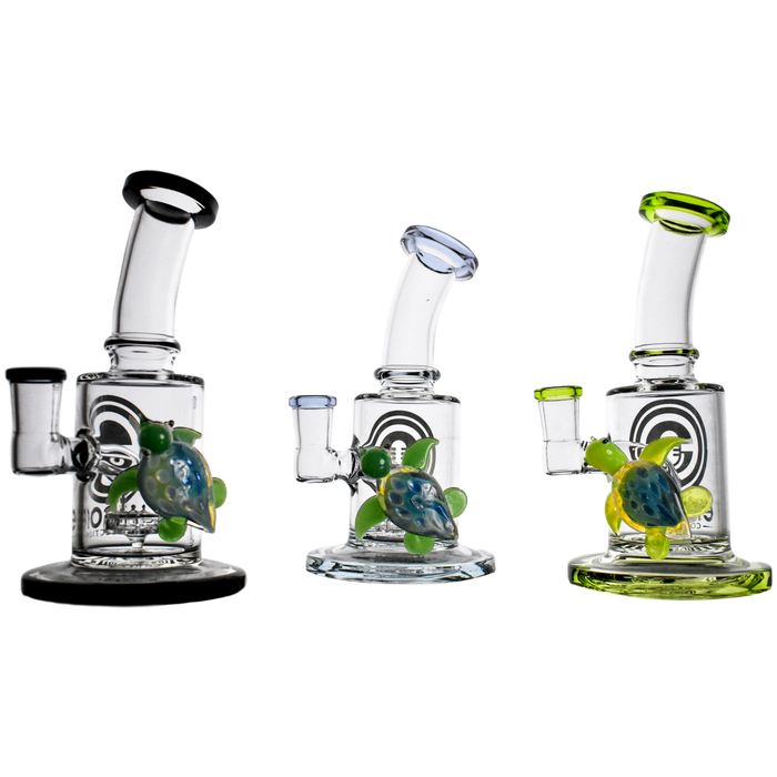 "Encore 6.5"" Sea Life Turtle Dab Rig"