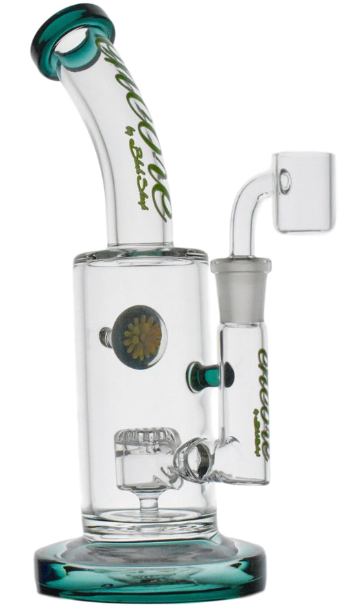 "Encore 9"" Marble Splash Dab Rig"