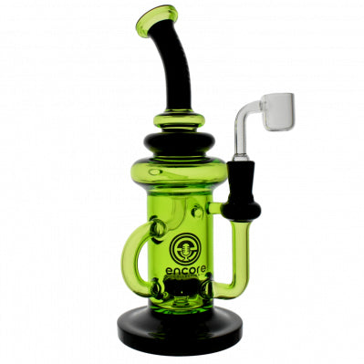 "Encore 10"" Shady Klein Recycler Dab Rig Kryptonite"