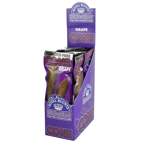 Royal Blunts Hemparillo Cones - Grape