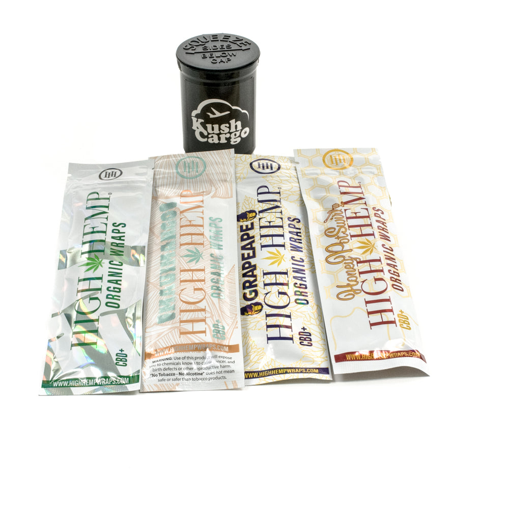 High Hemp CBD Wraps Variety 5 Pack
