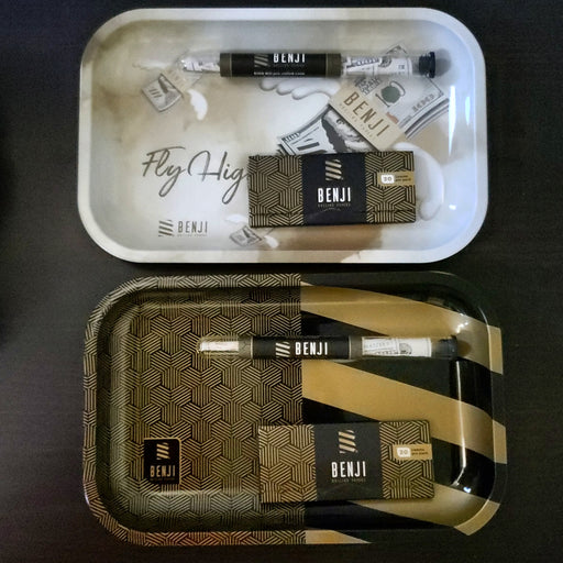 Benj Rolling Tray and Papers Gift Set