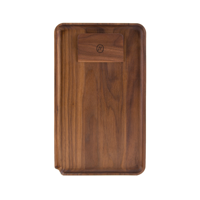 Marley Natural American Black Walnut Rolling Tray - 2 Sizes