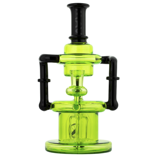 "MAV Glass 8.5"" Pasadena Microscopic Quad Shower Recycler - 5 Colors"