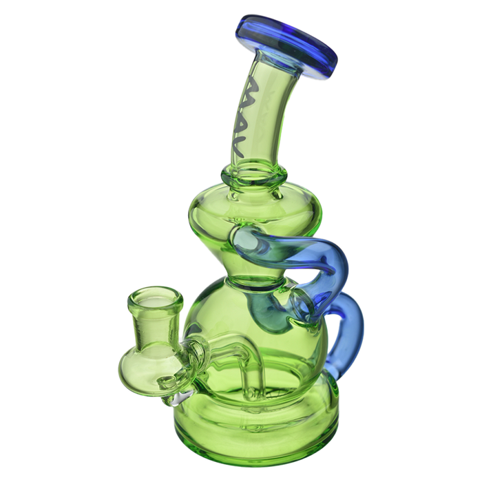 "MAV Glass 7"" Tahoe Recycler Dab Rig - 3 Colors"