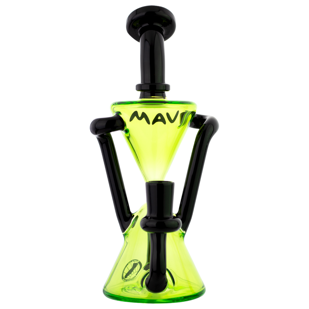 "MAV Glass 8"" Zuma Recycler Dab Rig - 3 Colors"