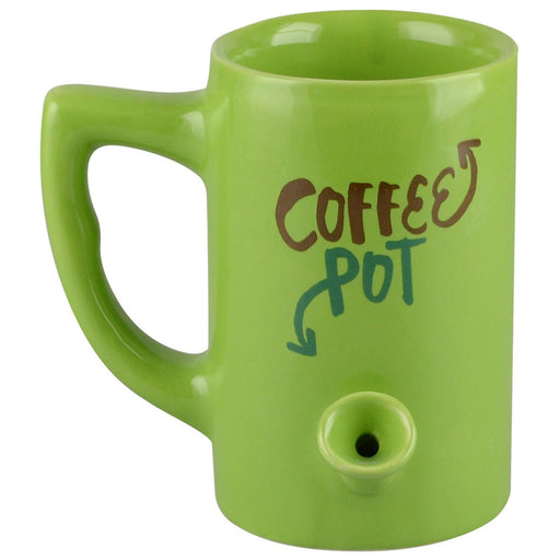 Ceramic Water Pipe Mug - 8oz - Coffee Pot