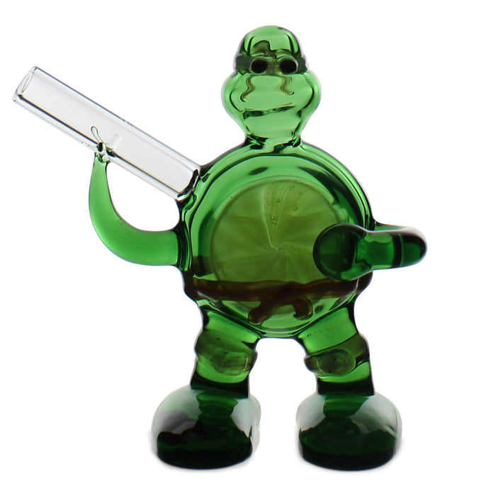 Turtle Power Hand Pipe 3.5""