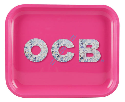 OCB Large Rolling Tray - Diamond