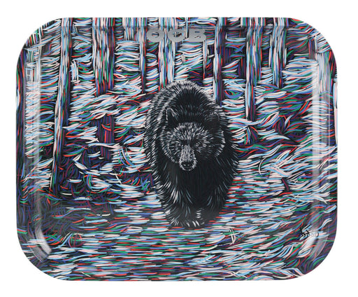 OCB Trippy Bear Rolling Tray - 3 Sizes
