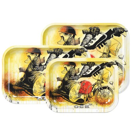 """Small OCB Rolling Tray Motorcycle 7.5/""""x5.5/"""""""