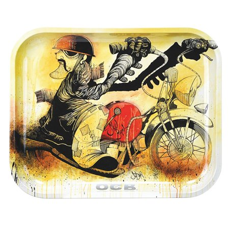 OCB Rolling Tray Motorcycle- 3 Sizes
