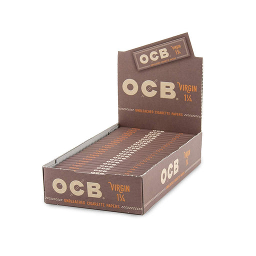OCB Virgin Unbleached 1 1/4