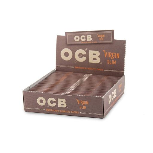 OCB Virgin Unbleached King Size Slim