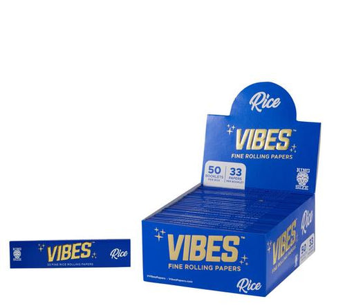 Vibes Rice King Size Rolling Paper
