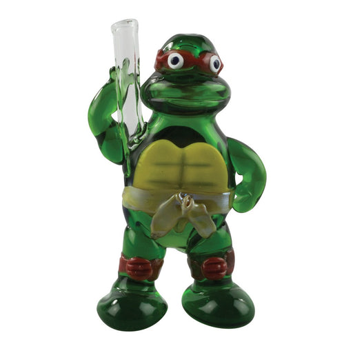 Apollo Glassworks 'Turtle Power' Hand Pipe