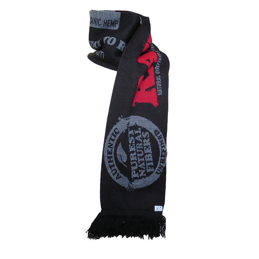 RAW Rolling Papers Team Scarf - Black