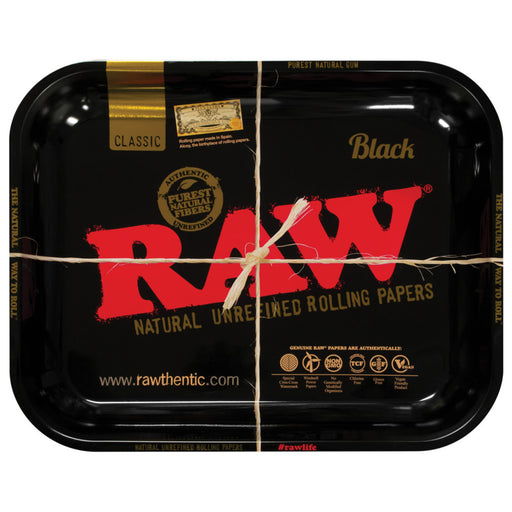 RAW High Seeded Steel Rolling Tray - 2 Sizes
