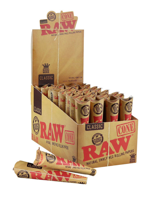 RAW Classic Pre Rolled Cones King Size