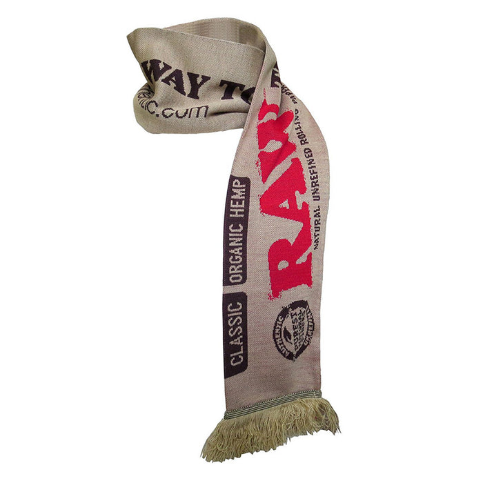 RAW Rolling Papers Team Scarf - Tan — Kush Cargo ba18402da210