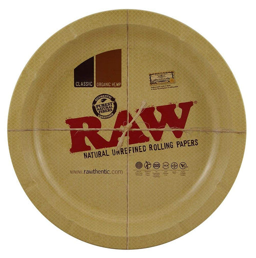 "RAW Rolling Tray 12"" Round"