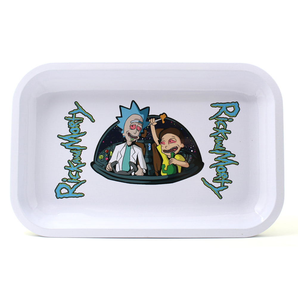R&M Rolling Tray - White