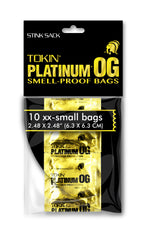 Stink Sack XX-Small Tokin Chrondom Bags 2.52″ × 2.52″ (10 Pack)