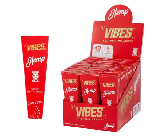 Vibes Hemp King Size Cones