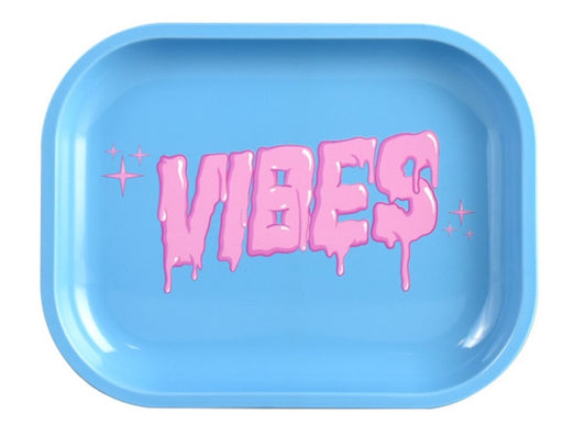 VIBES Bubblegum Drip Rolling Tray - 3 Sizes