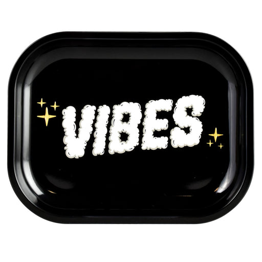 VIBES Clouds of Smoke Rolling Tray - 3 Sizes
