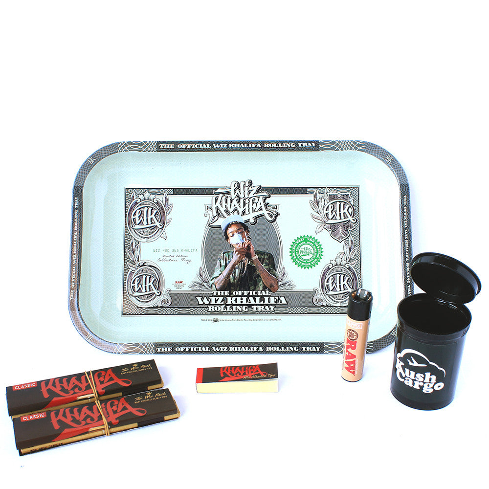 Wiz Khalifa Tray And Papers Bundle