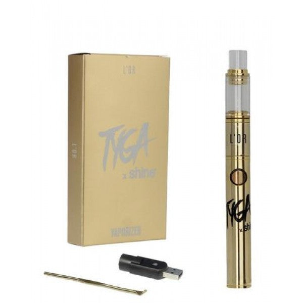 Shine® X TYGA Atmos® L'OR Wax Vaporizer