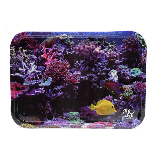 "Be Lit Rolling Tray ""Tanked"" - Large"