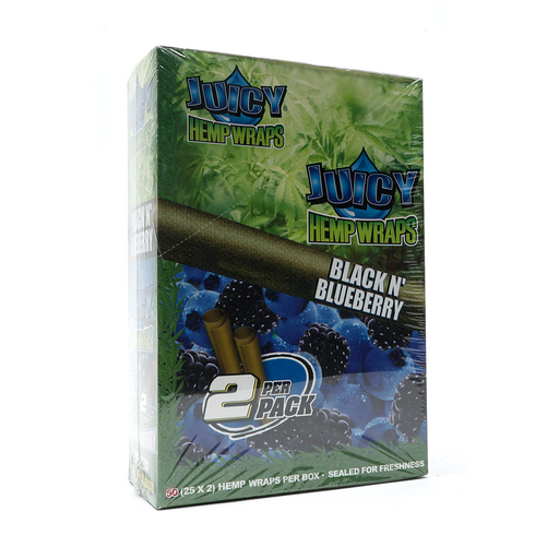 Juicy Hemp Wraps - Black N' Blueberry