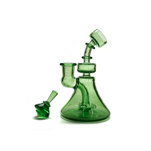 Queso Glass Boom Slang Dab Rig