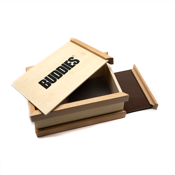 Buddies Kief Sifter Box - Large