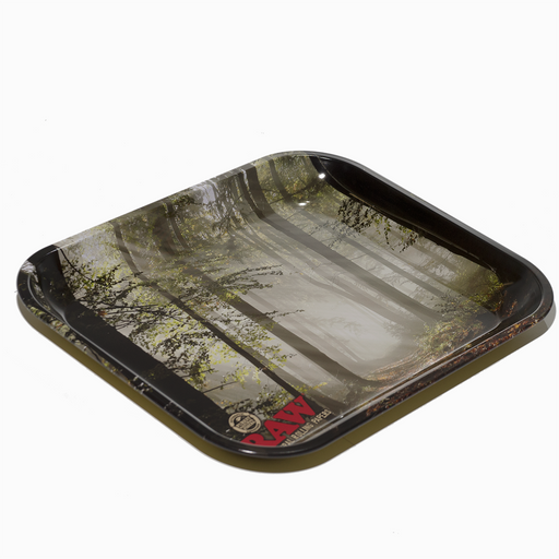 RAW Rolling Tray - Burn Trees - Large