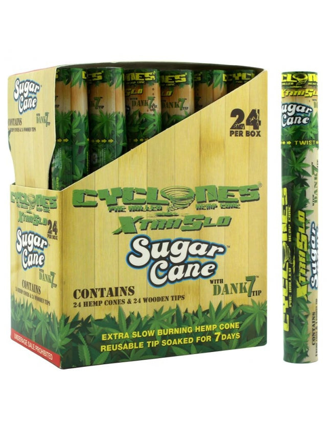 Cyclones Hemp Cones Sugar Cane