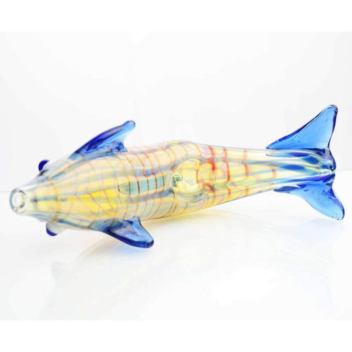 Dolphin Glass Pipe On sale