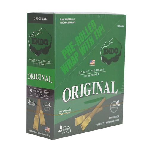 Endo Pre-Rolled Hemp Wraps -  Original