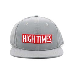 High Times Snapback - Silver Shimmer