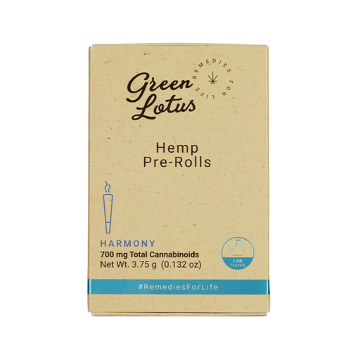 Green Lotus Hemp Pre Roll 700mg - 2 Flavors