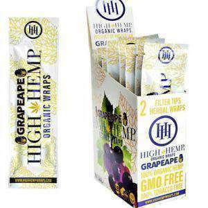High Hemp Organic Hemp Wraps - 11 Flavors