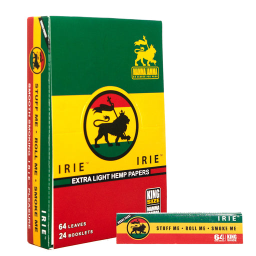 IRIE Kingsize Hemp Rolling Papers