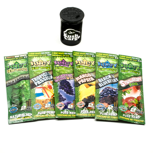 Juicy Hemp Wraps All Natural Variety (6) Pack