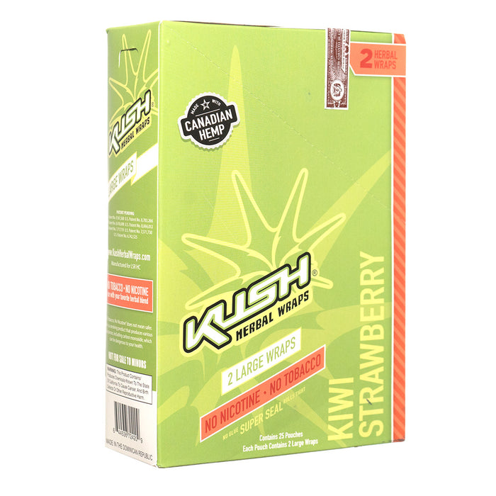 KUSH Kiwi Strawberry Hemp Wraps