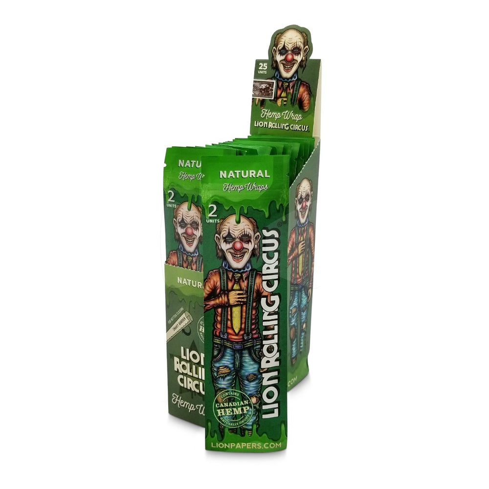 Lion Circus Hemp Wraps Natural