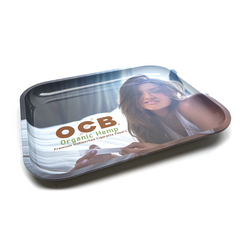 OCB Large Rolling Tray - Girl
