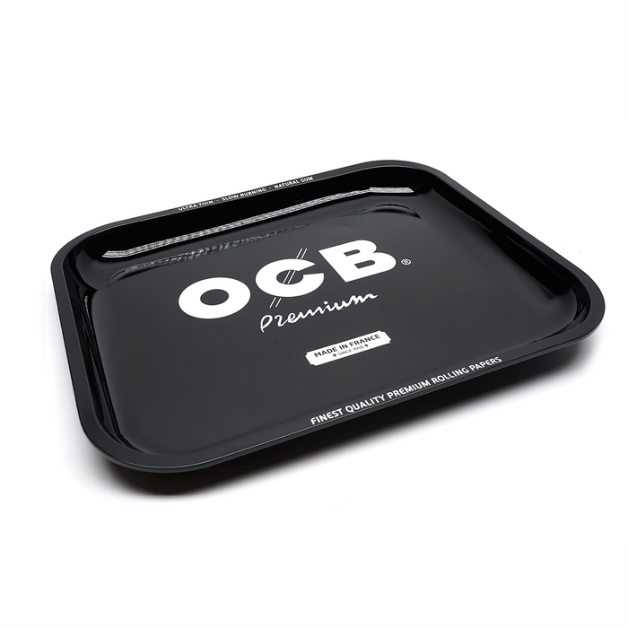 OCB Rolling Tray 'OG Black' - 3 Sizes